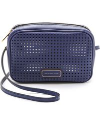 Marc By Marc Jacobs Perforated Sally Bag - Black - Lyst
