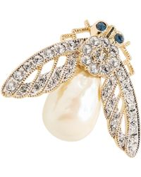 Brooks Brothers - Firefly Brooch - Lyst