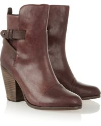 Rag & Bone Kinsey Leather Boots - Lyst