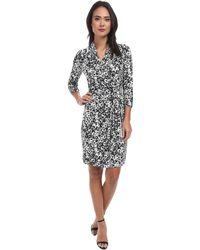 Karen Kane Kate Print Wrap Dress - Lyst