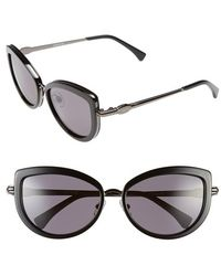 Wildfox 'Chaton' 57Mm Cat Eye Sunglasses - Lyst