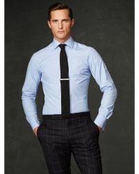 Ralph Lauren Purple Label Glen Plaid Aston Dress Shirt - Lyst