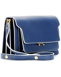 Marni Trunk Leather Shoulder Bag - Lyst