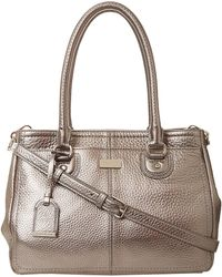 Cole Haan Village Ew Snap Satchel - Lyst