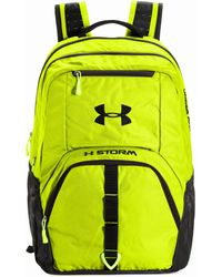 Under Armour Yellow Exeter Backpack - Lyst