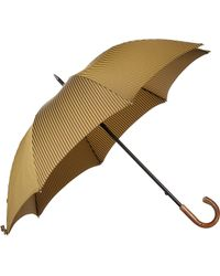 Barneys New York Herringbone Stick Umbrella - Lyst