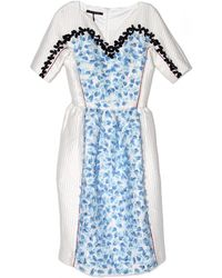 Mother Of Pearl Adelaide Sweetheart Neck Dress - Lyst