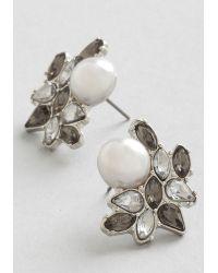 Adia Kibur - Photo Opulence Earrings In Silver - Lyst