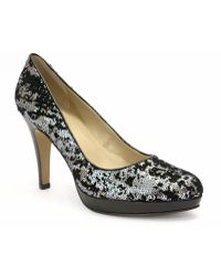Ellen Tracy Patton Sequin Pumps - Lyst