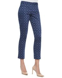 Not Your Daughter's Jeans Corynna Skinny Pendant Ankle Pants blue - Lyst