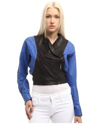 Vivienne Westwood Anglomania Leather Pier Point Jacket - Lyst