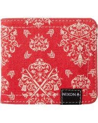 Nixon - Tree Hugger Bi-Fold Wallet - Lyst