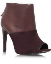 Nine West Meoww High Heel Boots - Lyst