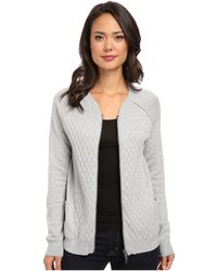 Calvin Klein Jeans Quilted Front Bomber - Lyst