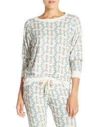 All Things Fabulous - Mermaid Print Sweatshirt - Lyst