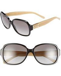 Tory Burch 'P Square' 57Mm Sunglasses - Lyst