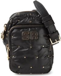 Sonia by Sonia Rykiel Studded Crossbody Bag black - Lyst