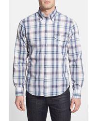 Gant Rugger 'Vacay' E-Z Fit Madras Plaid Sport Shirt - Lyst