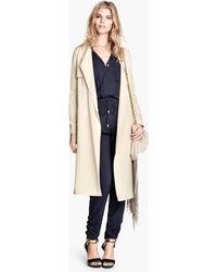 H&M Trenchcoat - Lyst