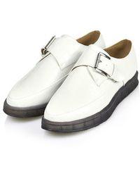 Topshop Fatal Monk Shoes - Lyst