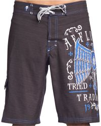 Affliction - Tried Fate Boardshorts - Lyst