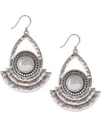 Lucky Brand - Freshwater Pearl Drop Earrings - Lyst