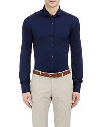 Brunello Cucinelli Oxford Shirt - Lyst