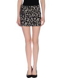 Cheap Monday Denim Skirt - Lyst