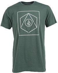 Volcom 'Gorbit' Graphic T-Shirt green - Lyst