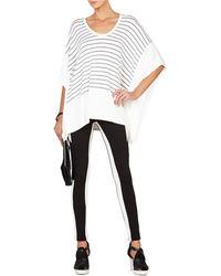 BCBGMAXAZRIA Lucilla Striped Knit Top - Lyst