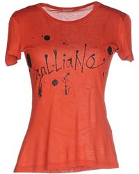 John Galliano | T-shirt | Lyst
