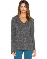 Nux - Cozy Cowl Neck Pullover - Lyst