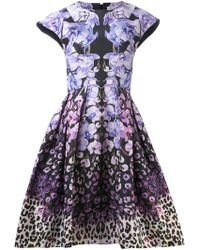 Temperley London Orchieda Floral Dress - Lyst