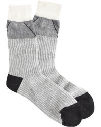J.Crew Anonymous Ism Charcoal Socks - Lyst