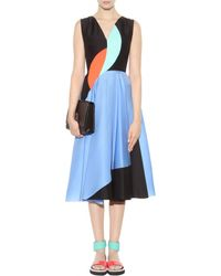 Roksanda Crinkle Organza Dress multicolor - Lyst
