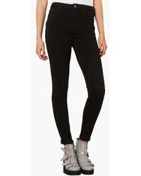 Topshop Moto 'Jamie' High Rise Skinny Jeans - Lyst