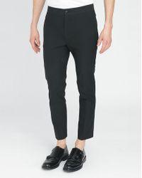 Acne Studios Black Brady Trousers - Lyst