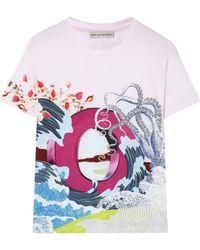 Mary Katrantzou O For Octopus T-shirt - Lyst