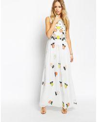 Needle & Thread Embellished Locket Maxi Dress - Lyst
