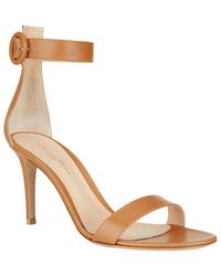 Gianvito Rossi Louis Leather Sandal - Lyst