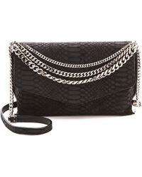 Milly Collins Shoulder Bag - Black - Lyst