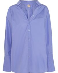 Tod's - Oversized Cotton-poplin Shirt - Lyst