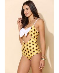 Urban Outfitters - Lolli Cakewalk Onepiece Swimsuit - Lyst