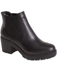 Steve Madden Women'S 'Rumi' Leather Bootie - Lyst