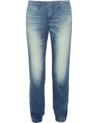 Rag & Bone - Pajama Low-rise Boyfriend Jeans - Lyst