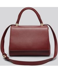 Max Mara Satchel Small J Bag - Lyst