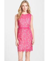 Darling - 'Lois' Lace Sheath Dress - Lyst