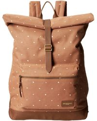 Obey Milton Roll Top Backpack - Lyst