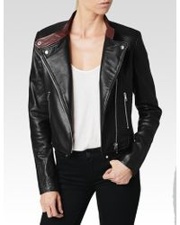 Paige Bevan Jacket Black Leather - Lyst