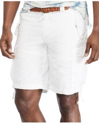 Polo Ralph Lauren Big And Tall Classic-Fit Commander Cargo Shorts - Lyst